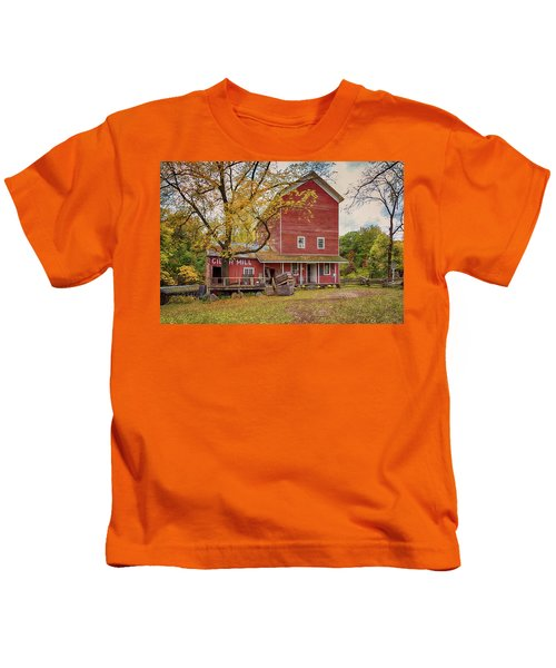 Historic Bowens Mills Kids T-Shirt