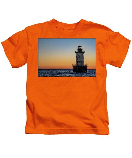 Hoopers Island Sunset Kids T-Shirt