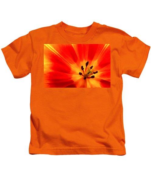 Hot Air Tulip Kids T-Shirt