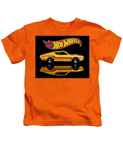 Hot Wheels '69 Mercury Cyclone Kids T-Shirt