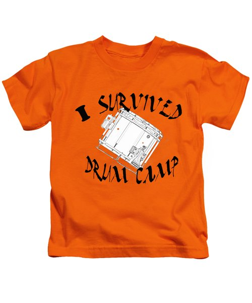 I Survived Drum Camp Kids T-Shirt by M K  Miller