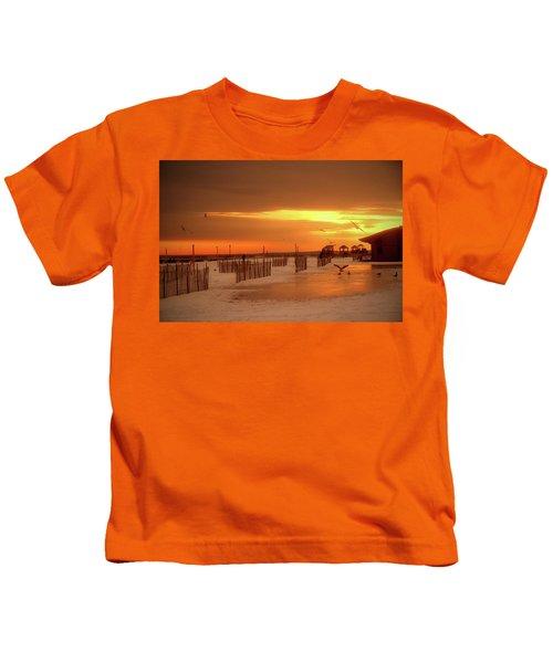 Iced Sunset Kids T-Shirt