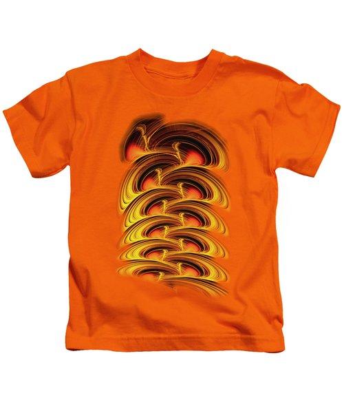 Inferno Kids T-Shirt by Anastasiya Malakhova