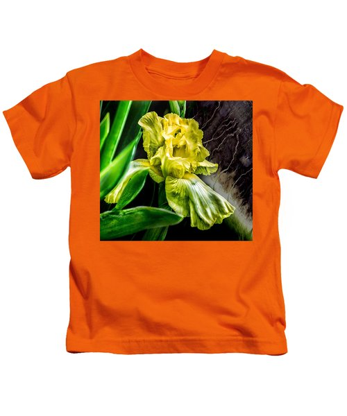 Iris In Bloom Two Kids T-Shirt