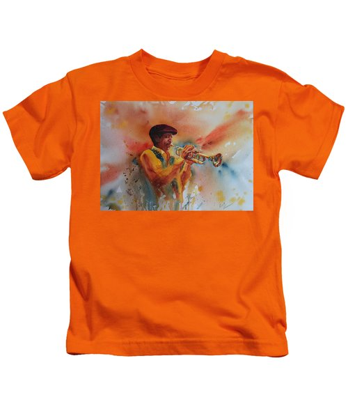 Jazz Man Kids T-Shirt