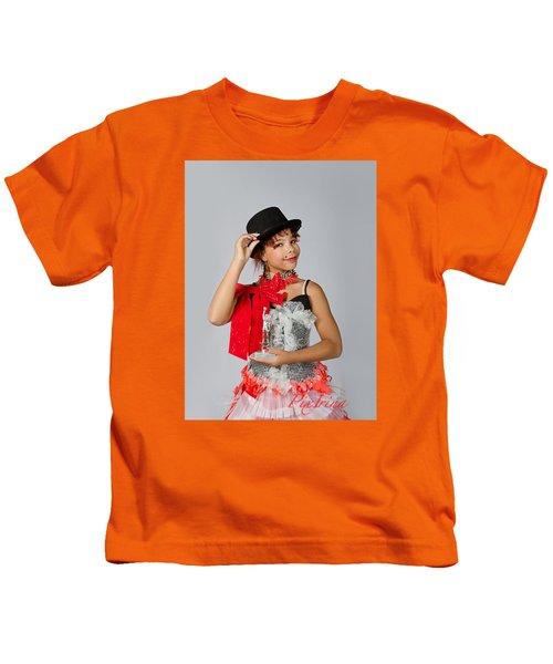 Jordan In Plastic Cup Can Can Dress Kids T-Shirt