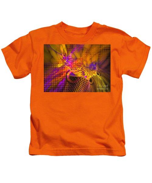 Joyride - Abstract Art Kids T-Shirt