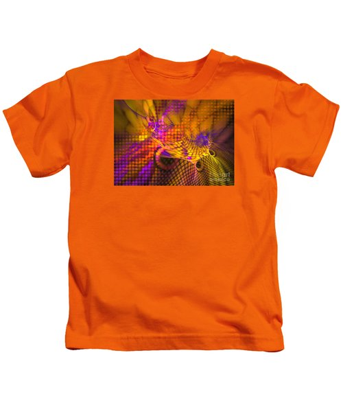 Joyride - Abstract Art Kids T-Shirt