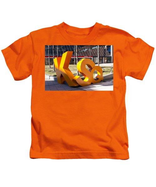 Kendall Square Sign Cambridge Ma Kids T-Shirt