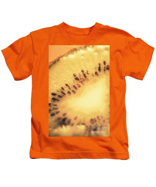 Kiwi Margarita Details Kids T-Shirt