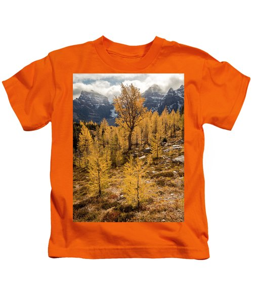 Larch Family Kids T-Shirt