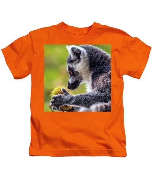 Lemur And Sweet Chestnut Kids T-Shirt
