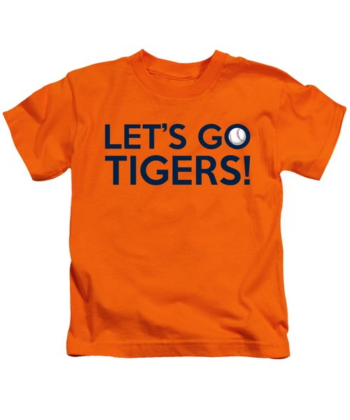 Let's Go Tigers Kids T-Shirt by Florian Rodarte
