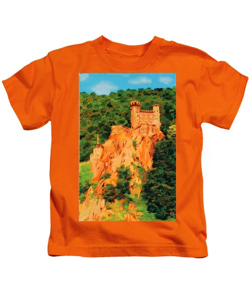 Lichtenstein Castle Kids T-Shirt