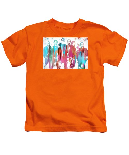Linkin Park Watercolor Paint Splatter Kids T-Shirt