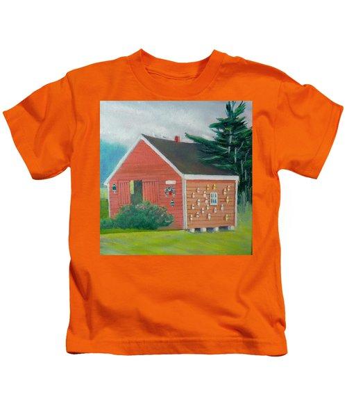 Lobster Buoy Shack Kids T-Shirt