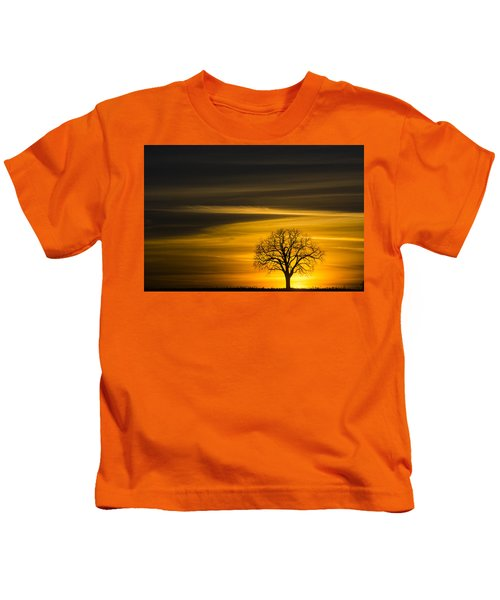 Lone Tree - 7061 Kids T-Shirt