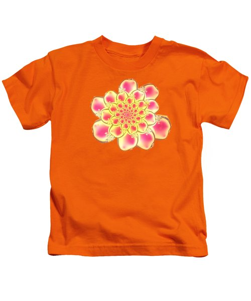 Lotus Kids T-Shirt by Anastasiya Malakhova
