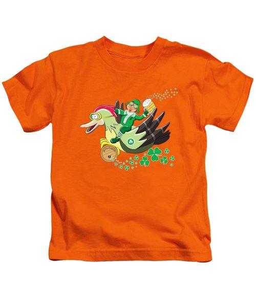 Lucky Leprechaun Kids T-Shirt