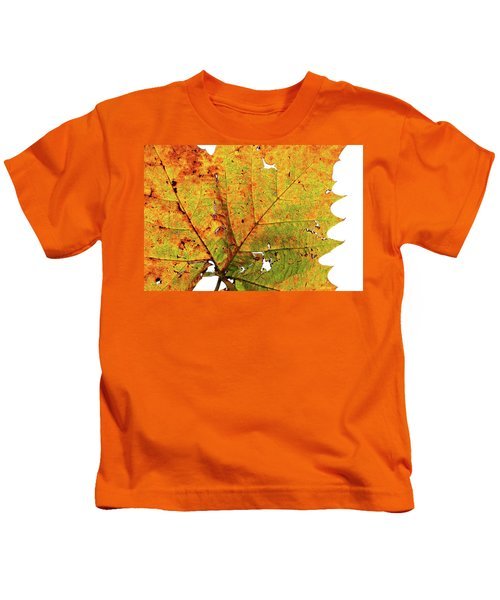 Macro Autum Kids T-Shirt