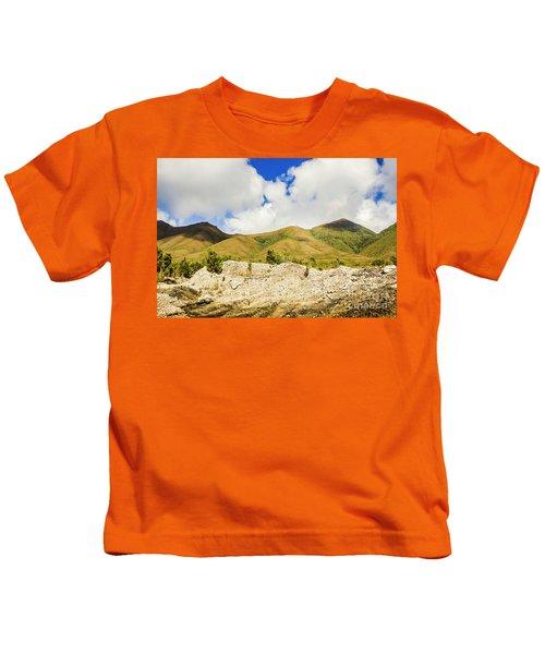 Majestic Rugged Australia Landscape  Kids T-Shirt