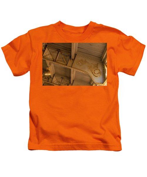 Maputo Train Station Iron Work Kids T-Shirt