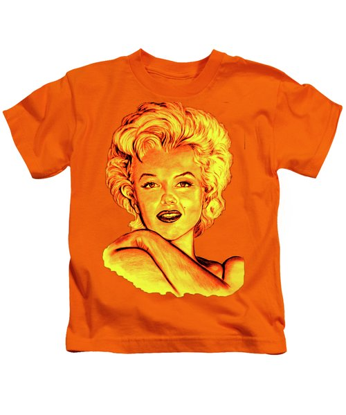 Marilyn Kids T-Shirt by Gitta Glaeser