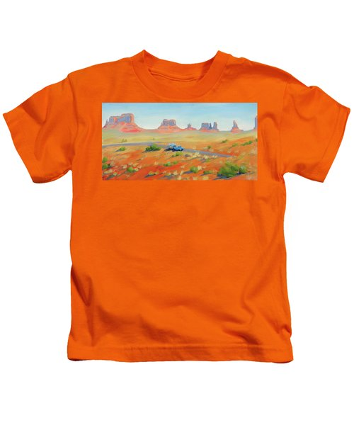 Monument Valley Vintage Kids T-Shirt