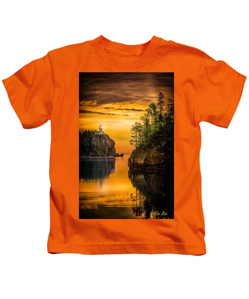 Morning Glow Against The Light Kids T-Shirt