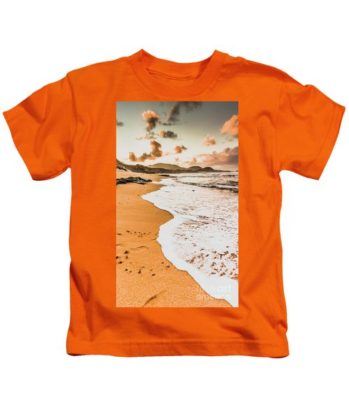 Morning Marine Wash Kids T-Shirt