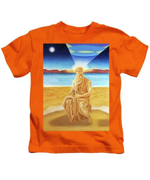 Moshe Rabbenu  Kids T-Shirt