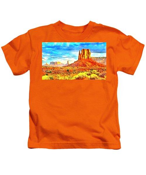 New Mexico Beautiful Desert - Da Kids T-Shirt