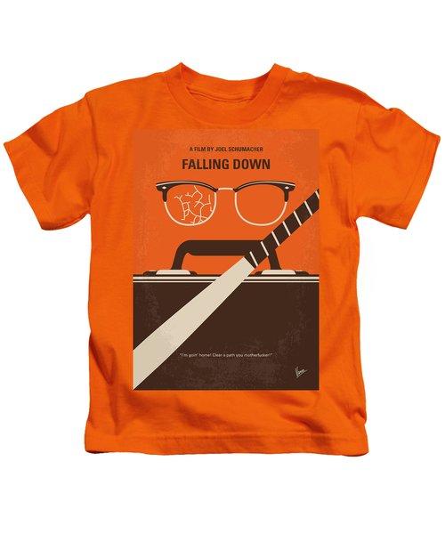 No768 My Falling Down Minimal Movie Poster Kids T-Shirt