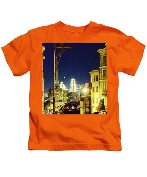 Nob Hill Electric Kids T-Shirt