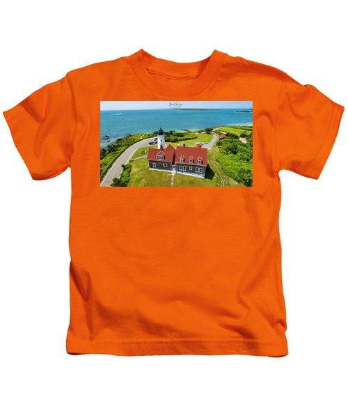Nobska Light House  Kids T-Shirt