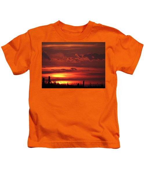 Oklahoma Sky At Daybreak  Kids T-Shirt