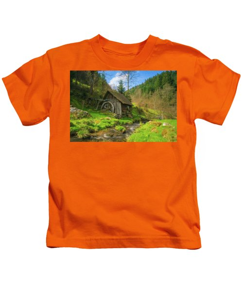 Old Black Forest Mill Kids T-Shirt