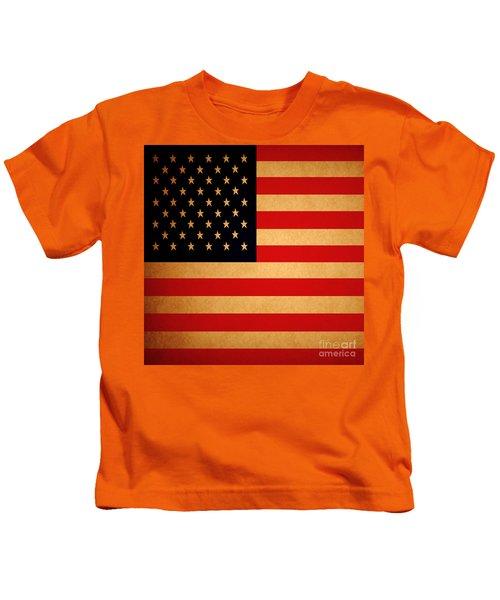 Old Glory . Square Kids T-Shirt