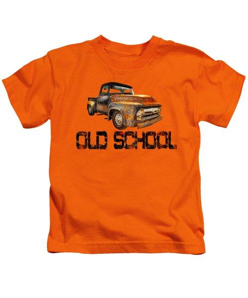 Old Truck Right Attitude Kids T-Shirt