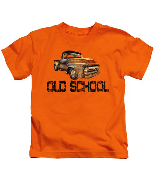 Old Truck Right Attitude Kids T-Shirt