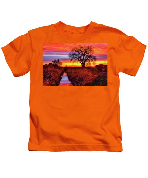 On The Horizon Kids T-Shirt