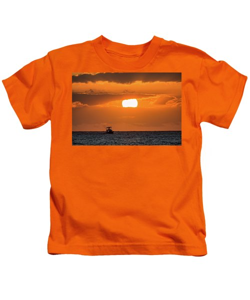 On The Water Kids T-Shirt