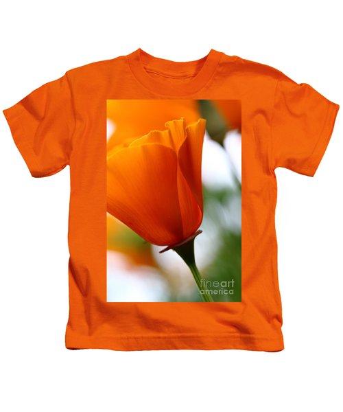Orange California Poppy . 7d14789 Kids T-Shirt