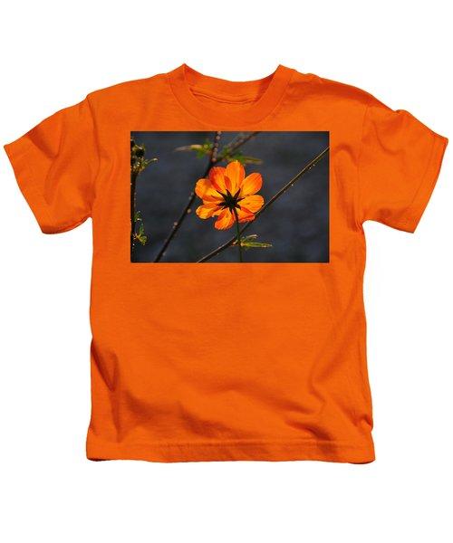 Orange Cosmo Kids T-Shirt