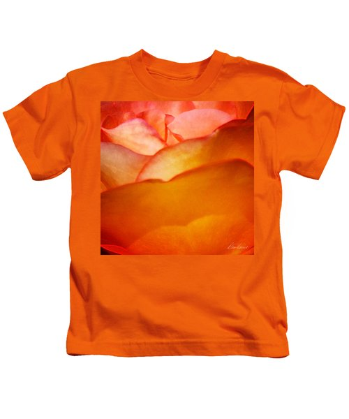Orange Passion Kids T-Shirt