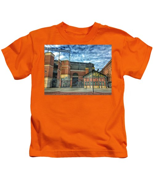 Oriole Park At Camden Yards Gate Kids T-Shirt