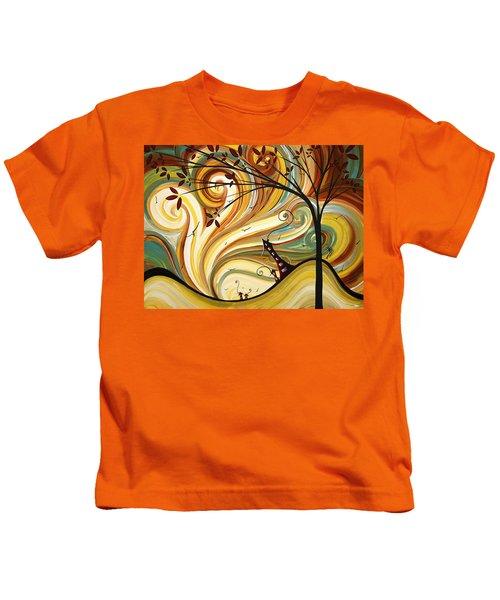 Out West Original Madart Painting Kids T-Shirt