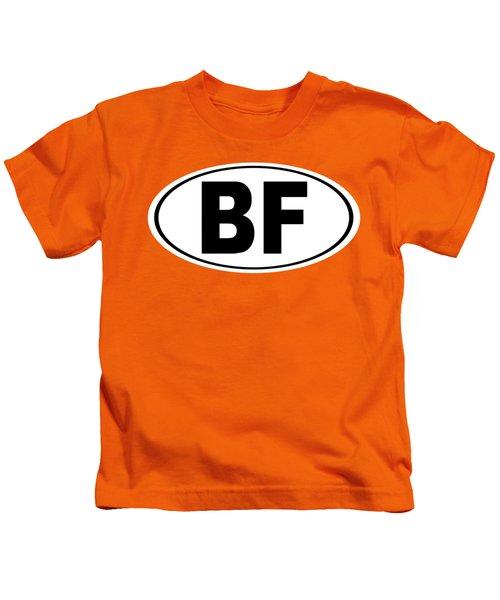 Oval Bf Beaver Falls Pennsylvania Home Pride Kids T-Shirt