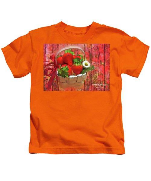 Panier De Baies 2017 Kids T-Shirt
