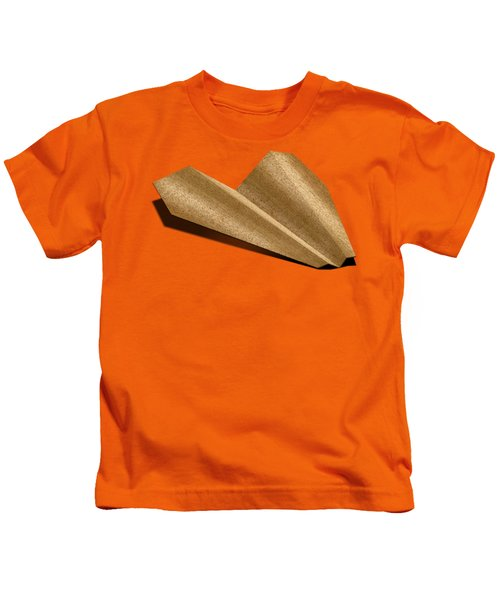Paper Airplanes Of Wood 6 Kids T-Shirt by YoPedro
